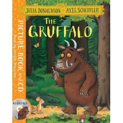 THE GRUFFALO. PICTURE BOOK AND CD